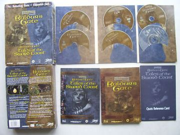 Baldur's Gate  PC  Tales of the Sword Coast Expansion Pack Big Box Edition